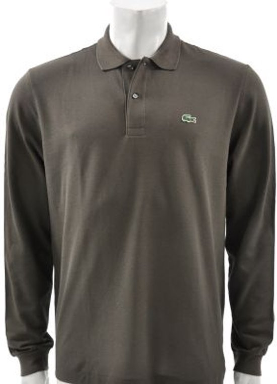 Lacoste - Long-sleeve Pique Polo - Heren - maat 6
