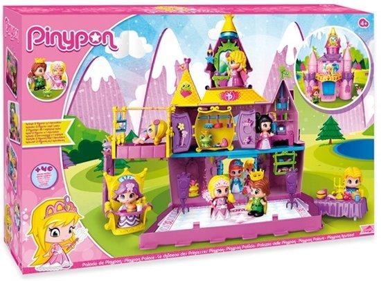 Pinypon Kasteel - Inclusief 2 Speelfiguren & 1 Diertje