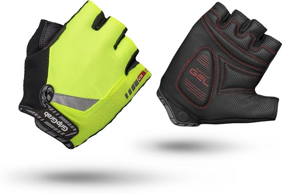 GripGrab ProGel Hi-Vis Fietshandschoenen - Maat XL - Geel