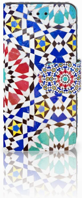 Samsung Galaxy S4 Mini Bookstyle Case Mozaïk in Saintes