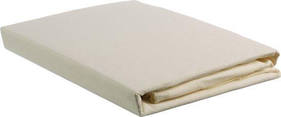 Beddinghouse Jersey - Hoeslaken - Eenpersoons - 70/90x200/220 cm  - Off-White