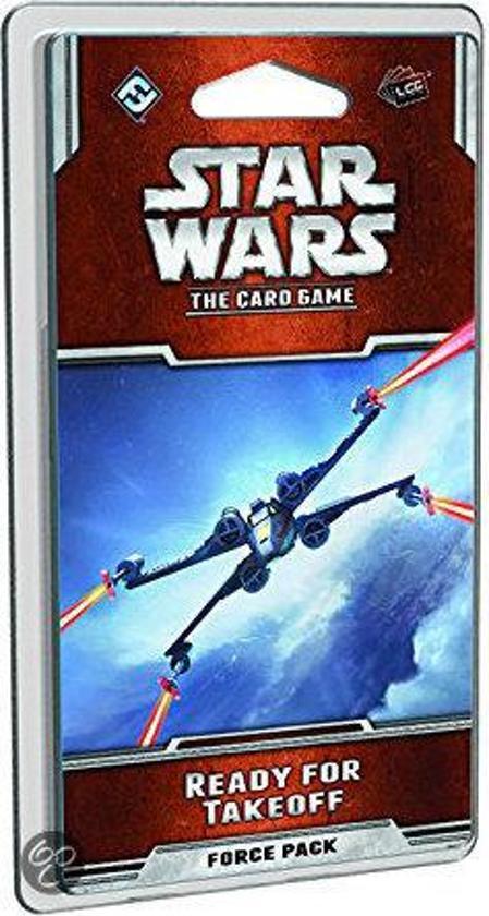 Afbeelding van het spel Star Wars The Card Game - Ready for Takeoff Force - Uitbreiding - Kaartspel