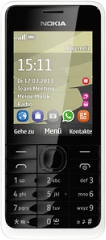 T�l�phone GSM NOKIA 301 BLANC