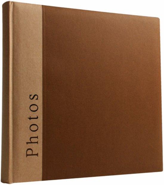 Henzo CHAPTER - Fotoalbum - 30 x 31 cm - Bruin - 100 Pagina's