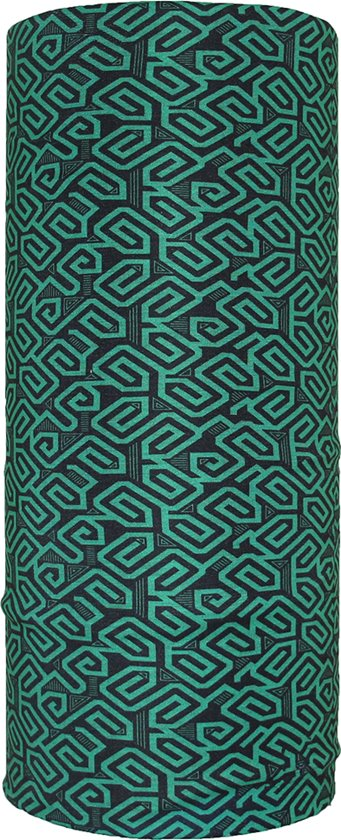 Faceshield - Nekwarmer - One size - Labyrint Green