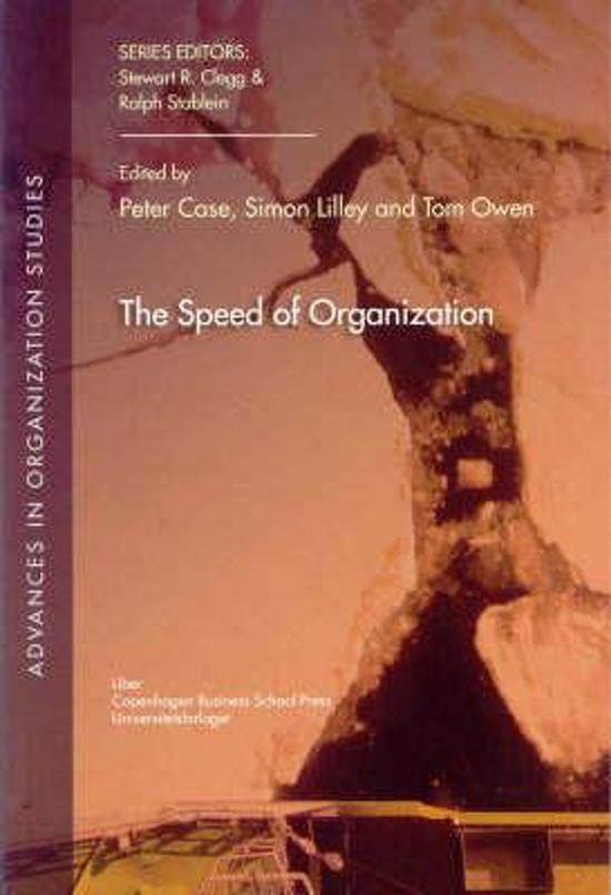 The Speed of Organization