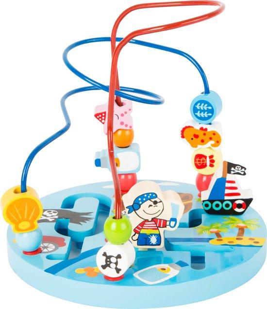 Afbeelding van Small Foot Kralenplaat Zeerovers 20 Cm speelgoed
