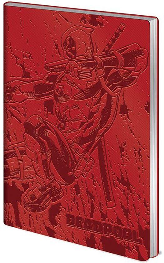 Deadpool Action Flexi Cover A5 Notitieboek