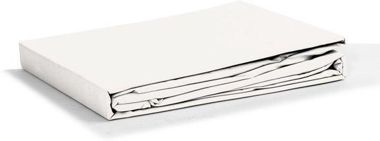 Swissation Jersey Hoeslaken - Wit Maat: 160/180x200/210+40cm