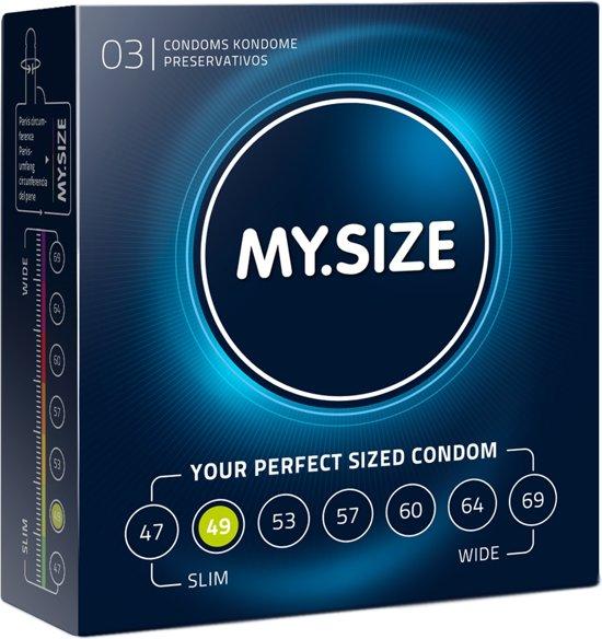 MY.SIZE 49 mm Condooms 3 stuks