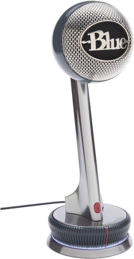 Blue Microphones Nessie - USB-microfoon - Zilver