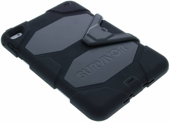 Survivor Backcover voor iPad Mini 4 - Zwart