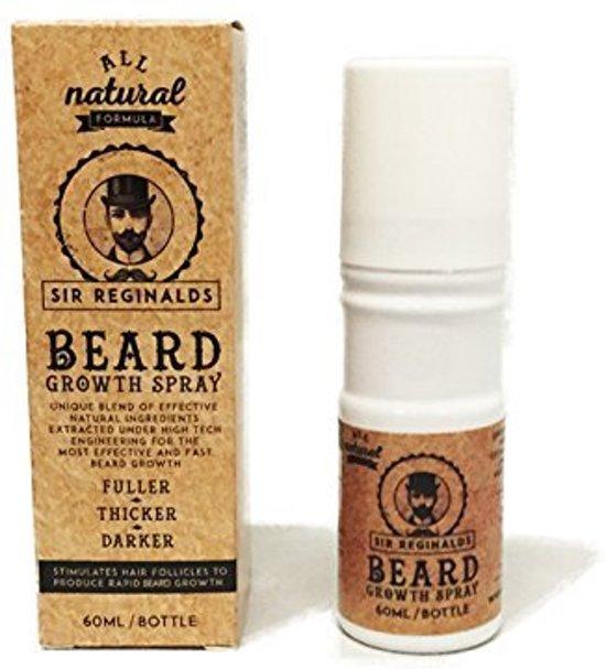 Sir Reginalds | Beard Growth Spray – De Oplossing voor een Perfecte Baardgroei