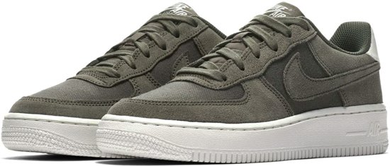 | Nike Air Force 1 (GS) Suede Sneakers Junior