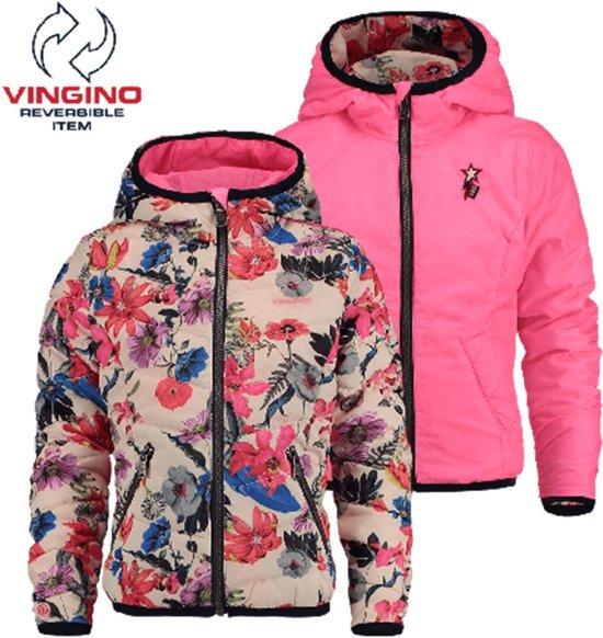 2376757039defe bol.com   Vingino Meisjes Zomerjas - Peach Pink - Maat 116