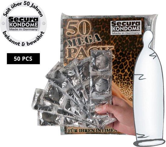 Secura Transparant Condooms - 50 stuks