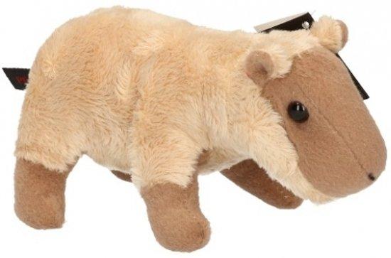 Pluche capibara knuffel 18 cm