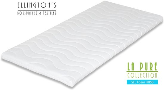 Ellington Gelfoam Cool - Topdekmatras - Topper 120x200 - Extra Dik 8cm