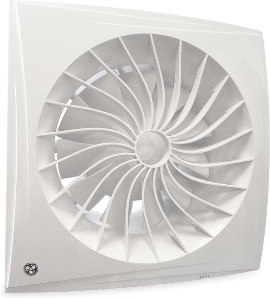 bol.com | Blauberg badkamer/toilet ventilator - sileo - Ø 150mm - 2 ...