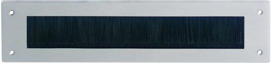 Intersteel Tochtwering rechthoek chroom mat