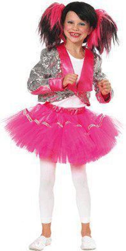 559941a4d5315f bol.com | Roze disco kostuum voor meisjes 140, Fun & Feest Party ...
