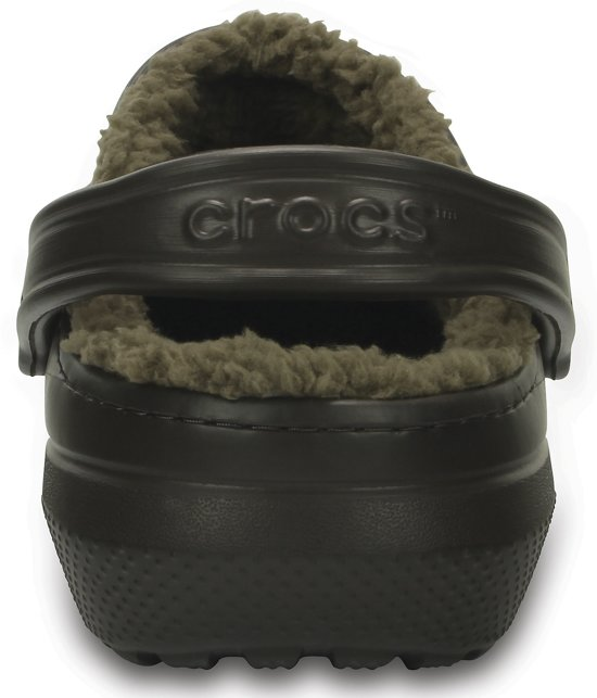 Unisex Slippers 44 43 Maat Classic Lined Clog Bruin Fuzz Crocs wPZqUgP