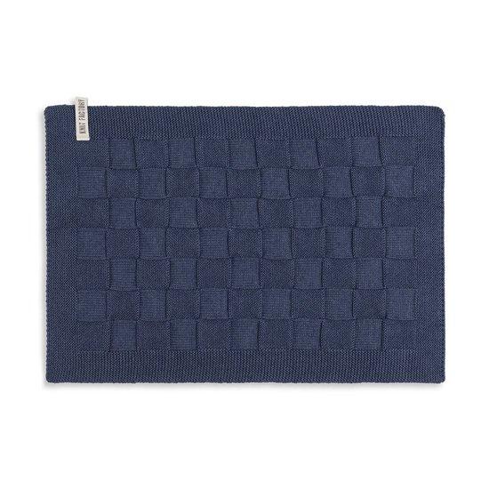 Knit Factory Placemat Uni Jeans