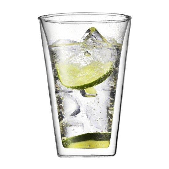 Bodum Canteen Dubbelwandig Glas - 400 ml - 2 stuks