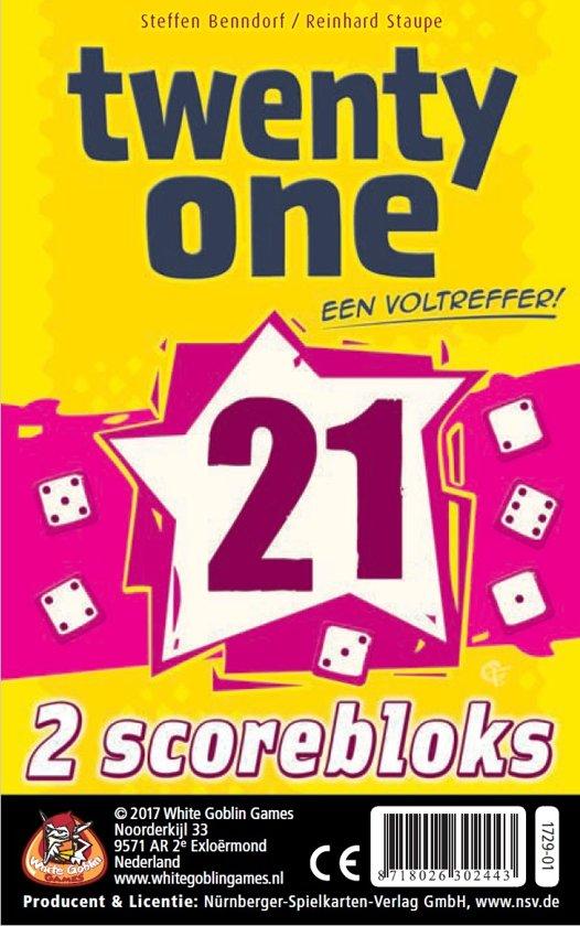 Afbeelding van het spel Twenty One (21): bloks