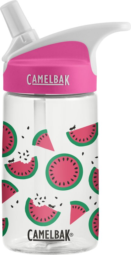 a952ddd661a bol.com   CamelBak Eddy Kids-Drinkfles-400 ml-Transparant (Watermelon)