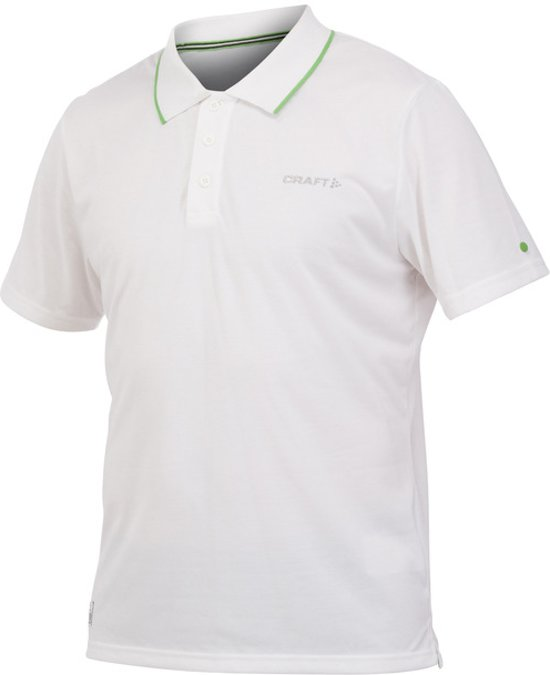 Craft In-The-Zone Piqué Men white l