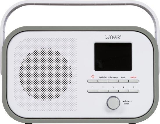 Ny bol.com | Denver DAB-40 - DAB+ digital radio - Grijs OI59