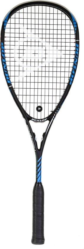 Dunlop  BLACKSTORM CARBON 2.0 HL - Zwart/Blauw - Squashracket Unisex - 773261