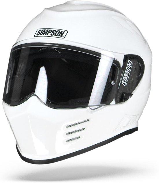 Simpson MATTBLACKMS Helmet Venom Matt Black 62-XL