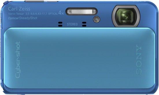 Sony Cybershot DSC-TX20 - Blauw
