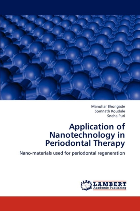 Application of Nanotechnology in Periodontal Therapy