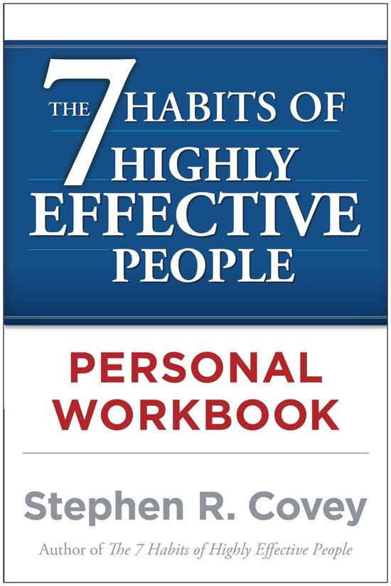 Afbeelding van The 7 Habits of Highly Effective People Personal Workbook