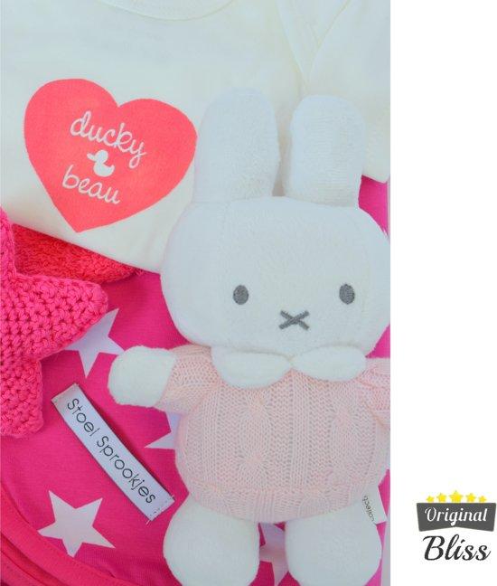 Kraamcadeau pakket - Kraamdoos - Babybox - Babydoos -Kraambox - Meisje groot