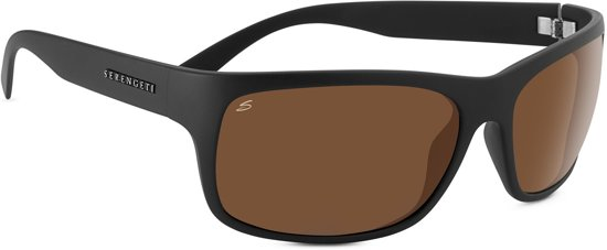 Serengeti Zonnebril - Polarised High-Contrast Photochromic Drivers Lens - Pistoia Satin Grey 8299