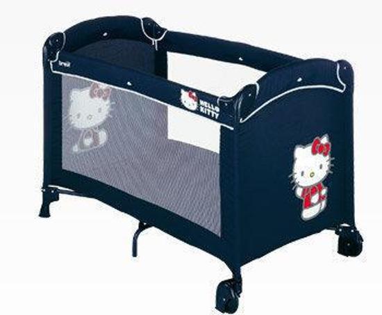 Hello Kitty Campingbedje.Bol Com Brevi Campingbedje Hello Kitty Blauw
