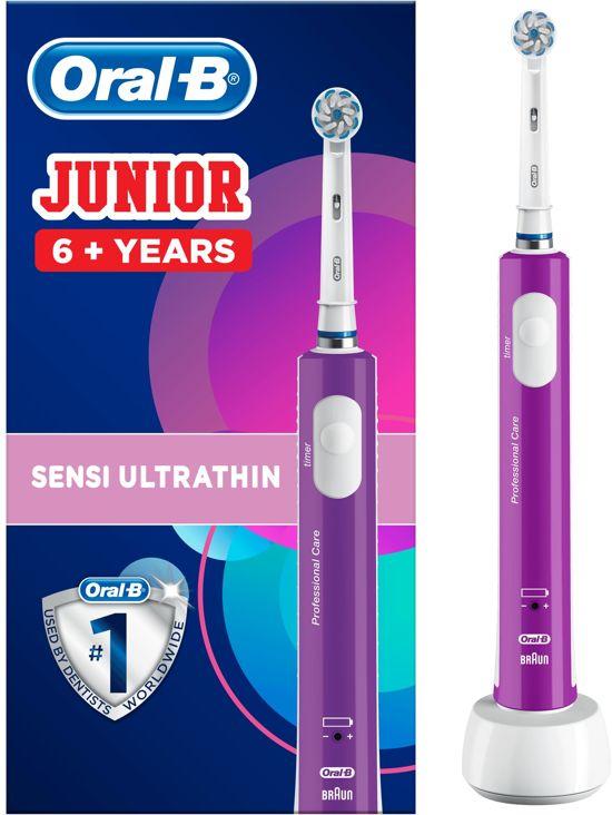 Oral-B Junior Paars - Elektrische Tandenborstel