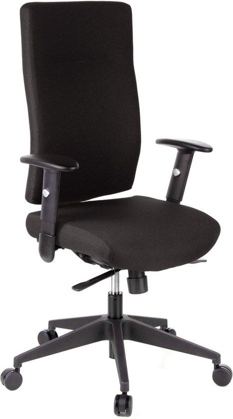 hjh office Pro-Tec 300 - Bureaustoel - Stof - Zwart