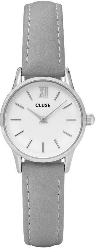 CLUSE CL50013 La Vedette - Horloge - Dames - Grijs - Ø 24 mm