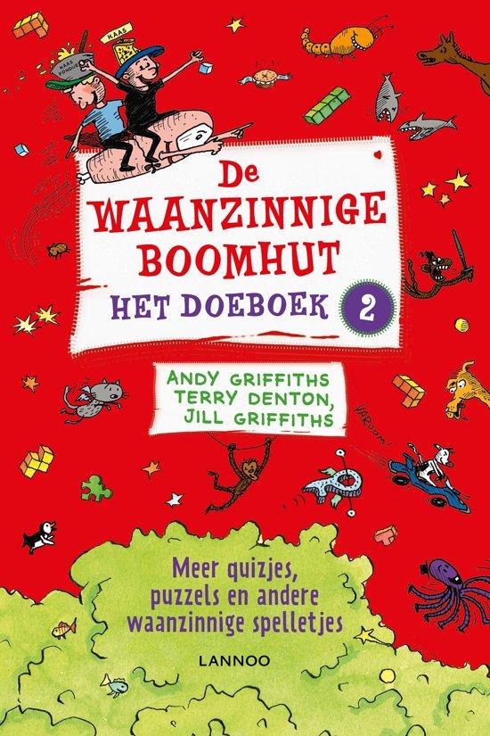 Boek cover De waanzinnige boomhut - Het doeboek 2 van Andy Griffiths (Paperback)