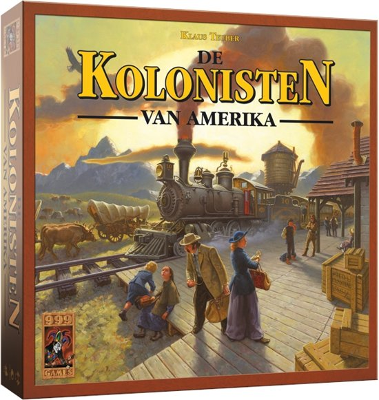De Kolonisten Van Amerika - Bordspel