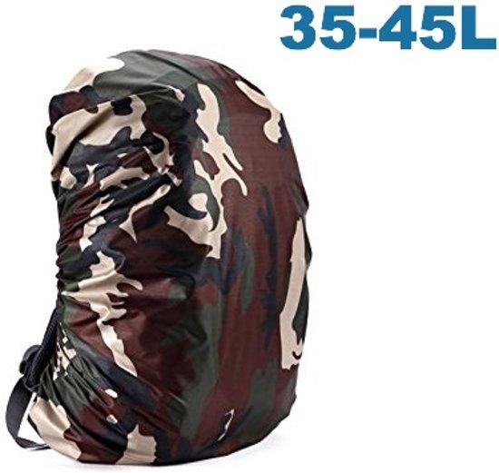 c6e9ca64688 ForDig - Flightbag Regenhoes Waterdicht voor Backpack Rugzak - 35-45 Liter  Regenhoes – Camouflage