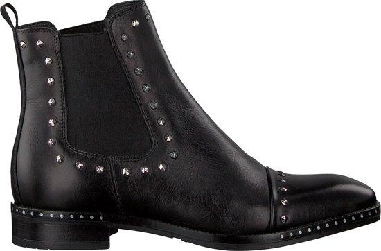 05baa1d3361 bol.com | Omoda Dames Chelsea Boots 86b002 - Zwart - Maat 41