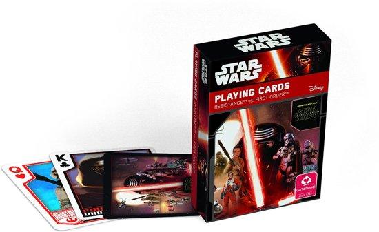 Afbeelding van het spel Star Wars Speelkaarten- The Force Awakens - Eps 7 Display