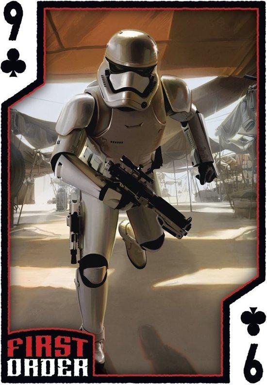 Thumbnail van een extra afbeelding van het spel Star Wars Speelkaarten- The Force Awakens - Eps 7 Display