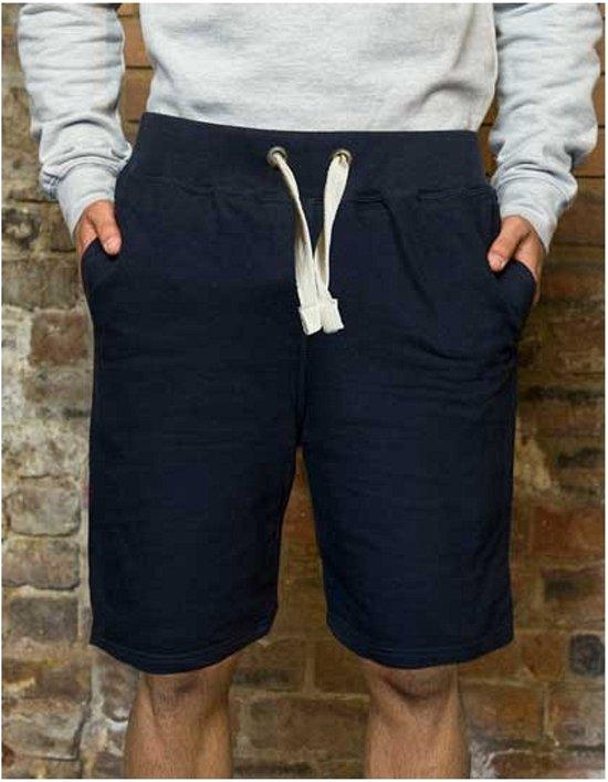 Navy campus shorts voor heren L